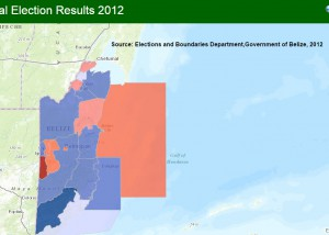 General Elections Results 2012